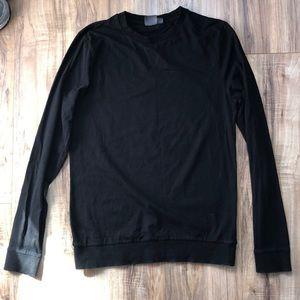 ASOS Long Sleeve Black Basic Top S